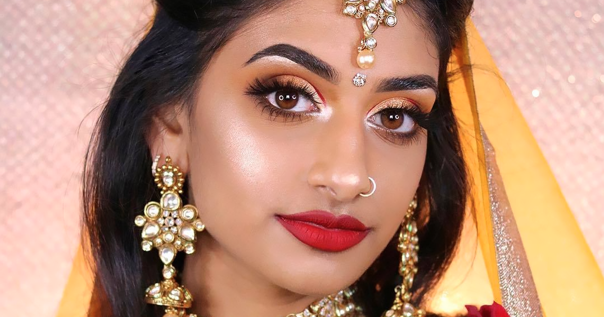 model shows how indian disney princesses would look like and some