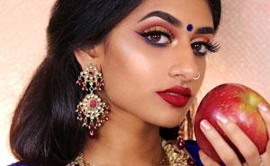 Esta modelo muestra el aspecto que tendrían las princesas Disney si fueran de India, y algunas parecen mejor que las originales