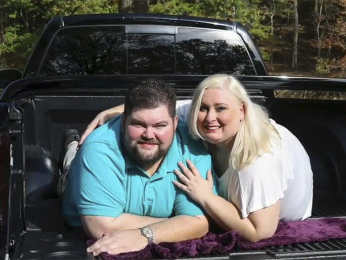 Katie Liepold says she and her fiance were fat-shamed recently by a photographer. (Courtesy of News 5 Cleveland).