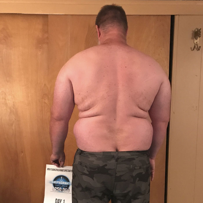 Father-Of-Three Realizes He Can't Maintain Up With His Children, Transforms His Body Beyond Recognition In 6 Months