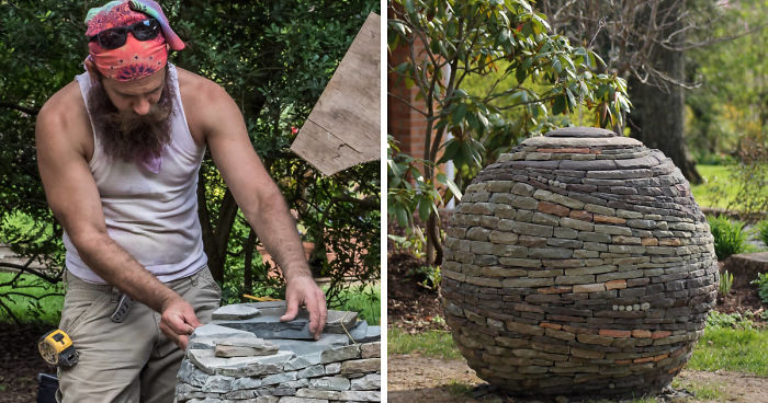 I Create Stone Sculptures Without Any Cement Or Glue