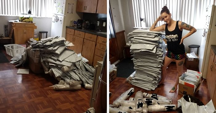 Woman Thinks She Hacked Amazon By Ordering A Ton Of Free Carpet Samples, Regrets It Immediately