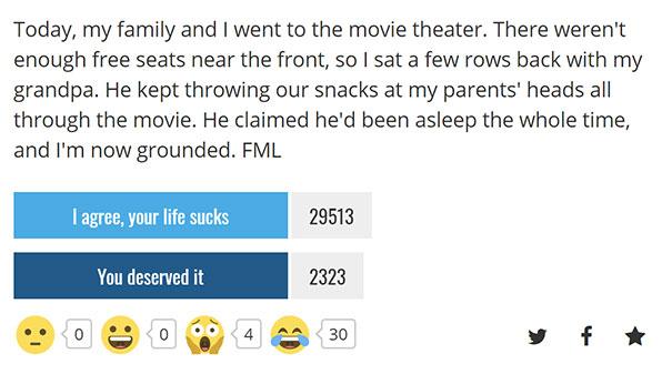 Troll Level: Grandpa