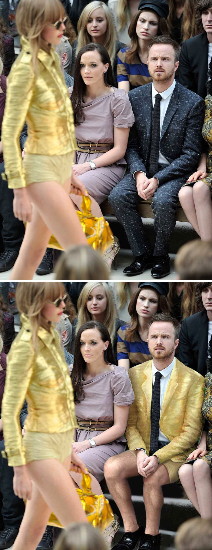 Aaron Paul Confused By Fashion