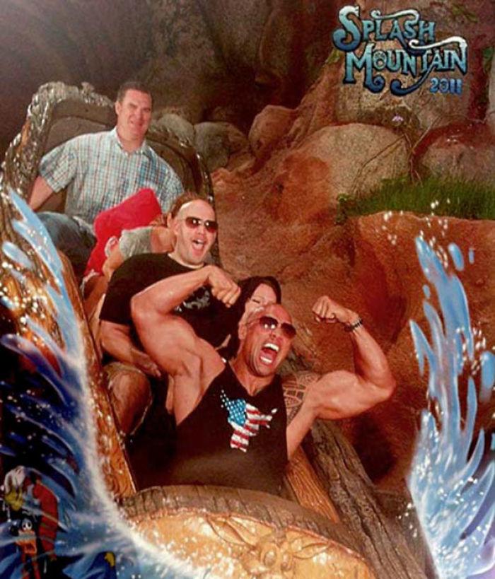 The Rock en Disneylandia