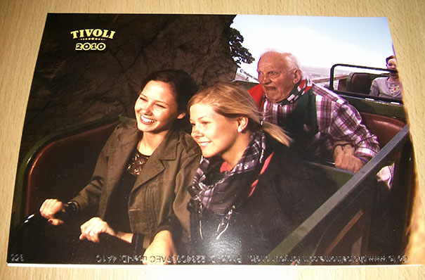 My Girlfriend And Her Sister Wanted To Look Casual On The Roller Coaster. Totally Understand Why They Paid $10 For This Pic