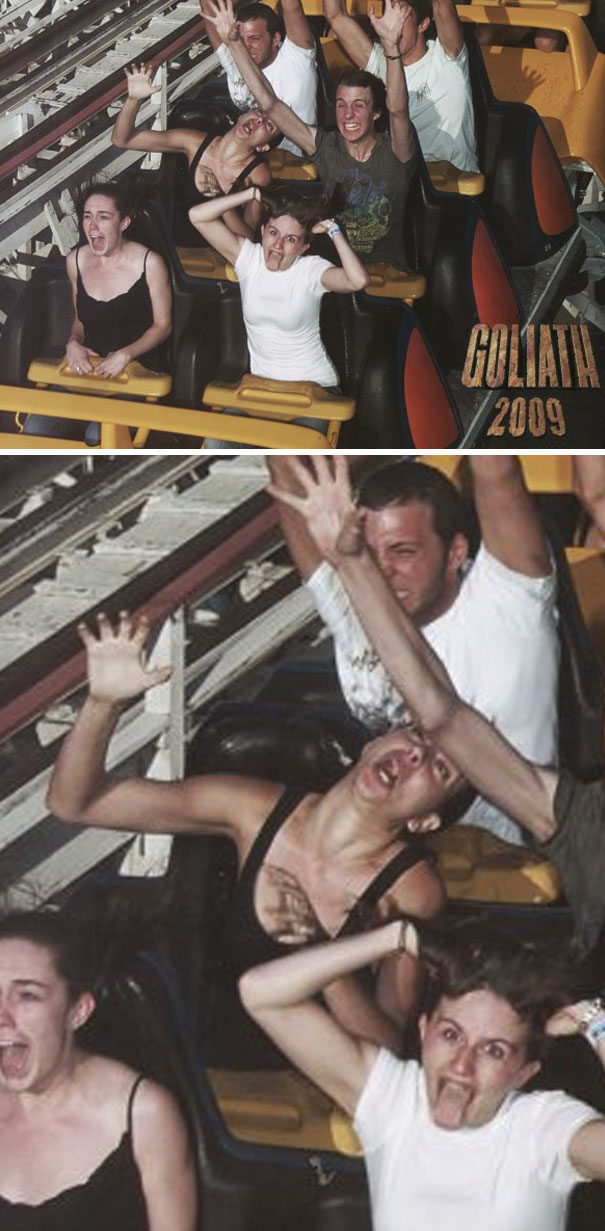 They Always Warn You Not To Lean Forward On Roller Coasters. Please, Learn From My Mistake (And Resulting Whiplash)