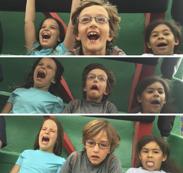Kids First Roller Coaster Ride
