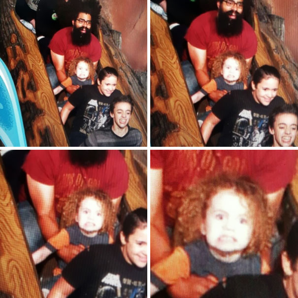 My 3-Year-Old's First Time On Splash Mountain Was A Great Success