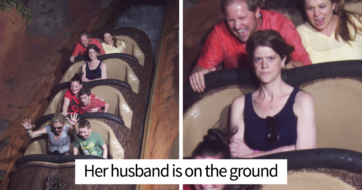 Rollercoaster Photos That Will Make You From Laughter Bored Panda