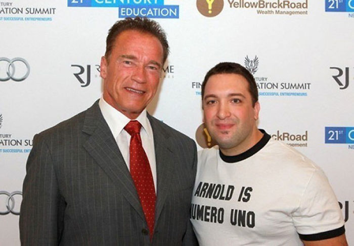 Arnold es el número uno y lo sabe