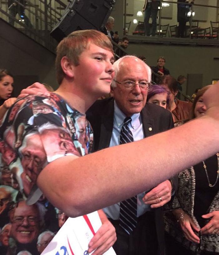 """Bernie dijo que """"era una mierda rarísima"""""""