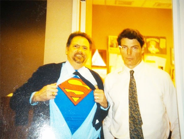 Many Years Ago My Dad Got To Meet Christopher Reeves. The Man Of Steel Did Not Appreciate His Shenanigans