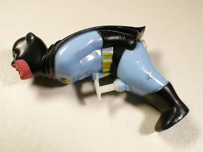 Clásica Pistola de Agua De Batman... ¡¿En Serio?!