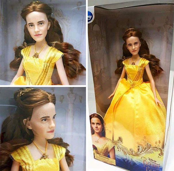 The Official Emma Watson 'Beauty And The Beast' Doll