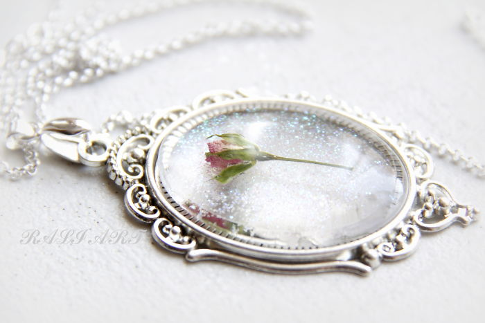 Glitter, Roses And Love Jewelry That I Make