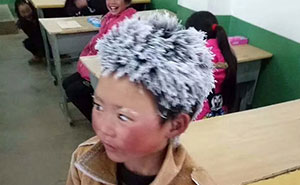 Boy Walks 4.8 Km In Freezing Cold To Attend His School, And His Living Conditions Will Break Your Heart