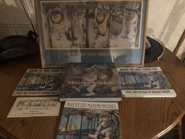 I Collect All Things Maurice Sendak These Are Just A Few Of My Collection