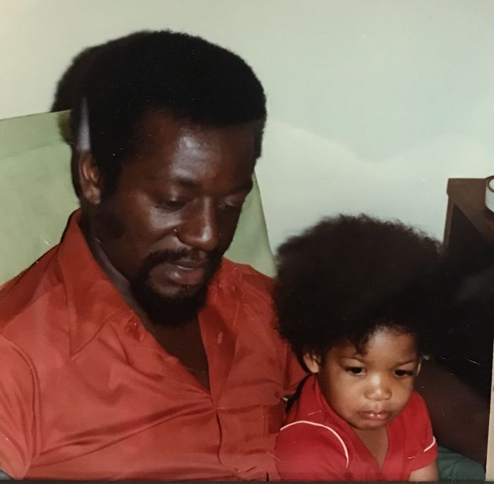Me And My Dad In The Early 80s Sportin The Same Fresh To Death Do