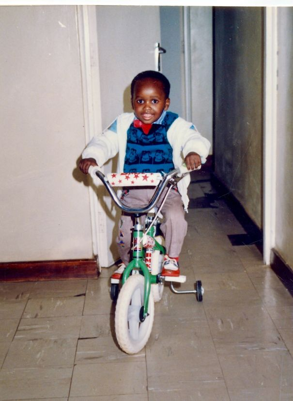 Me Back In 1994. I Was 4 Years Old And So Happy To Get A Bike.