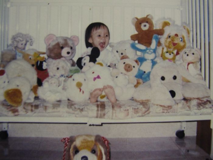 Me Back In 1999 Surrounded By My Treasure.