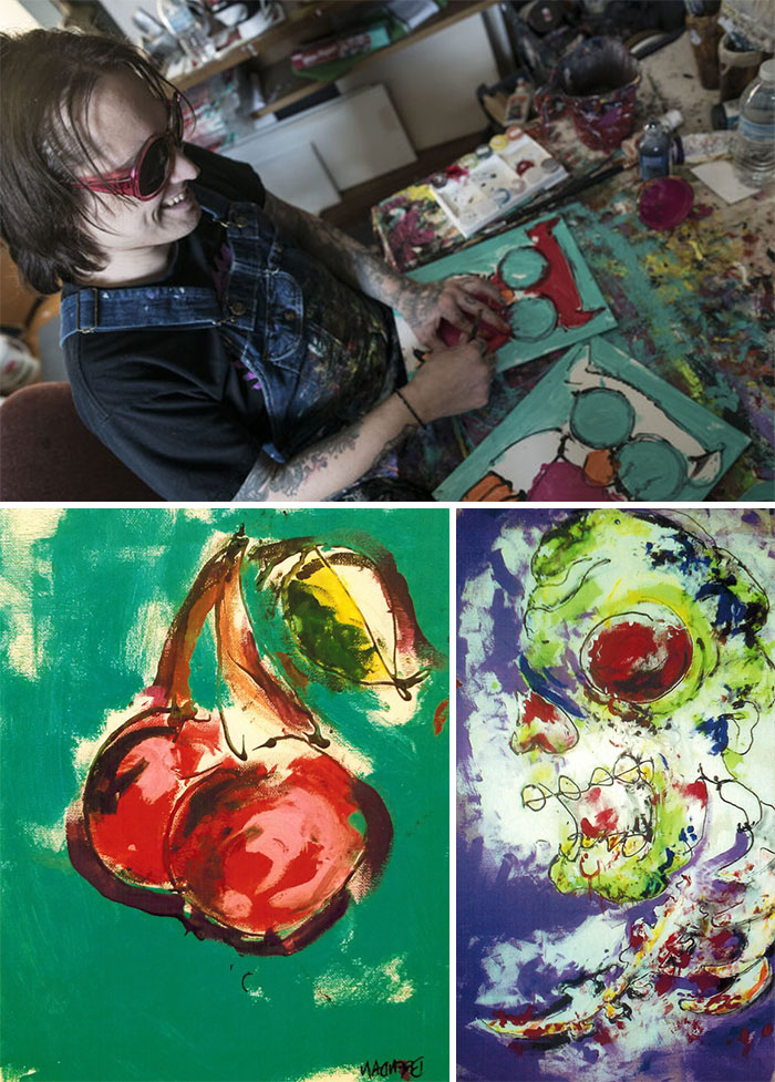 Brendan Patrick Lost His Sight Due To Complications Of Cystic Fibrosis But That Didn't Stop Him From Painting