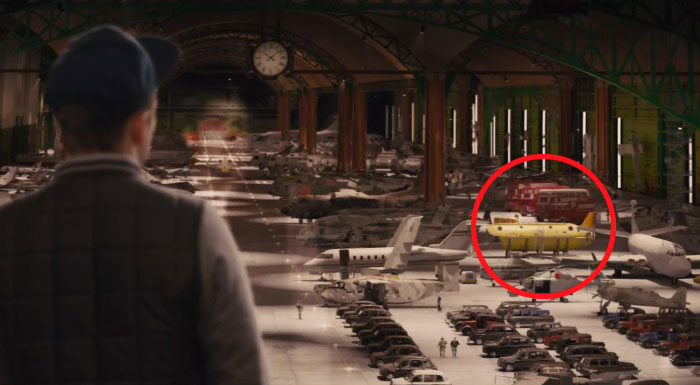 In The Vehicle Hangar In Kingsmen, (A Film About British Spies) One Of The Vehicles Is The Beatles' Yellow Submarine