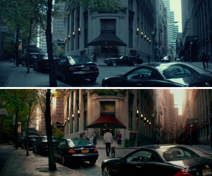 John Wick/John Wick 2: Despite Being Filmed/Released 3 Years Apart, The Films Are Set 4 Days Apart. All The Cars Outside The Continental Hotel Are The Same Between Films
