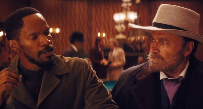 "In Django Unchained, A Man Asks Django What Is His Name Is And How It Is Spelled. ""The D Is Silent"", The Man Responds ""I Know"". This Man Is Franco Nero, The Original Django From The Original 1966 Film"