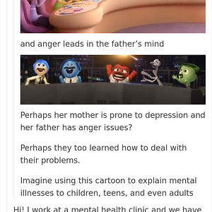 """Inside Out. """"Kids"""" Movies Have The Best Details In My Opinion"""