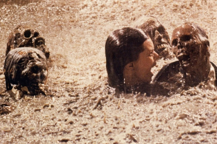 After Shooting The Pool Scene In The Movie Poltergeist, Actress Jobeth Williams Later Found Out That The Skeletons She Was Swimming Around With In The Mud Were Real. It Was Cheaper To Buy Them From A Medical Supply Company Then Making Them Out Of Rubber At The Time