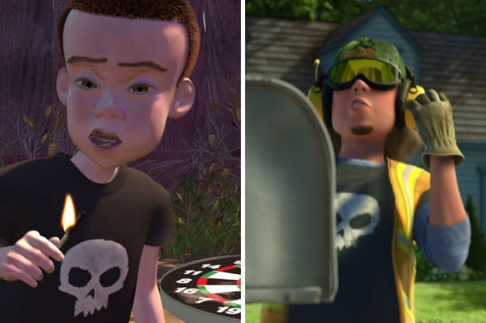 Sid From Toy Story Is The Garbage Man In Toy Story 3