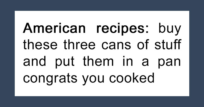 Tumblr Summarizes What Different Country Recipes Look Like, And It's Spot On