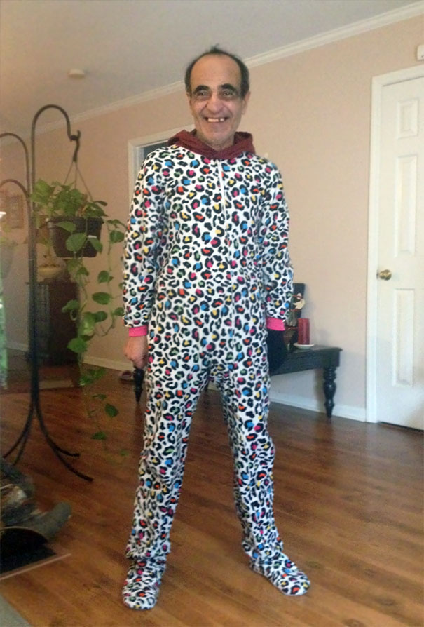 I Did Laundry At My Parents House And My Dad Found My Onesie