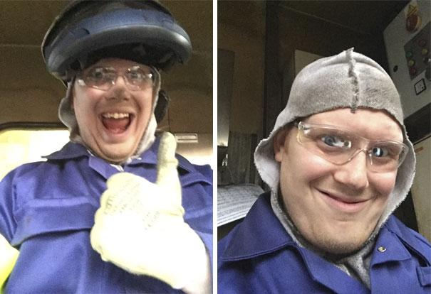 Guy Found Lost Phone, Took Selfies