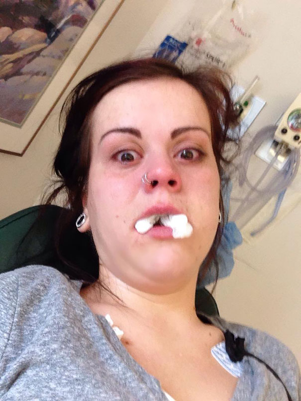 Had Oral Surgery Yesterday. Woke Up This Morning And Found This In My Phone