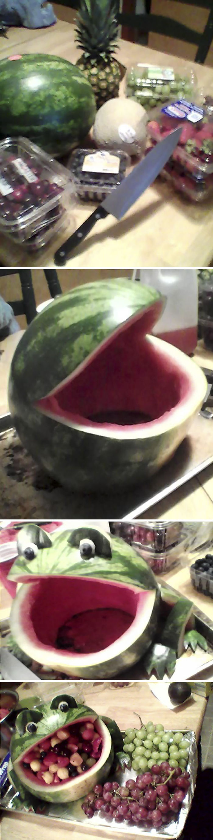 Mi abuela no me creía capaz de hacer una ensalada de fruta para la barbacoa
