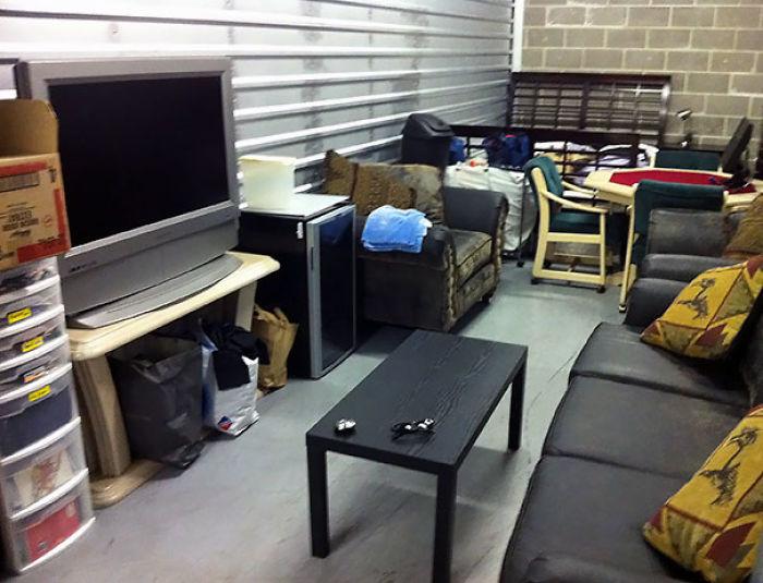 Mis amigos dijeron que no podía vivir en un almacén