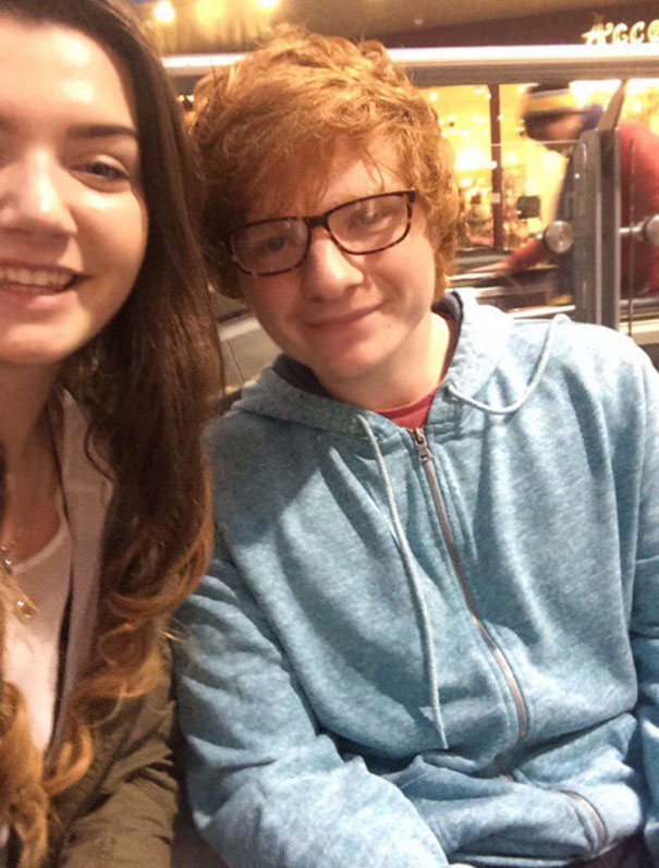 Been A Year Today Since She Thought She Met Ed Sheeran