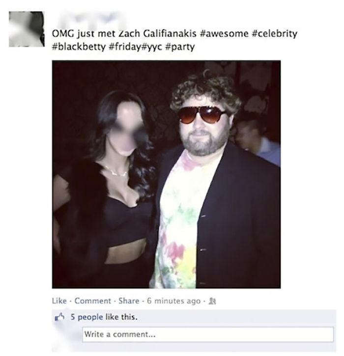 Tras conocer a Zach Galifianakis
