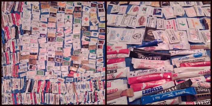 As A Sucrologist, Here Is My Collection Of 489 Sugar Packages
