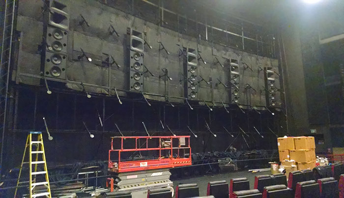 Here's What The Space Behind A Movie Theater Screen Looks Like