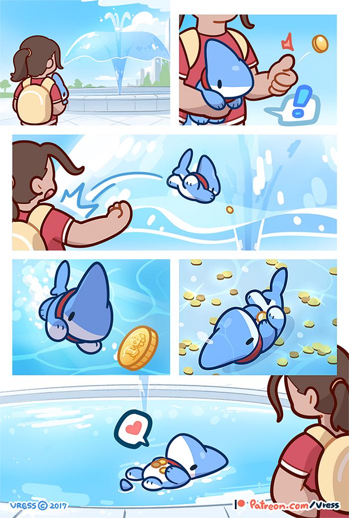 Shark-Puppy-Animation-Vress