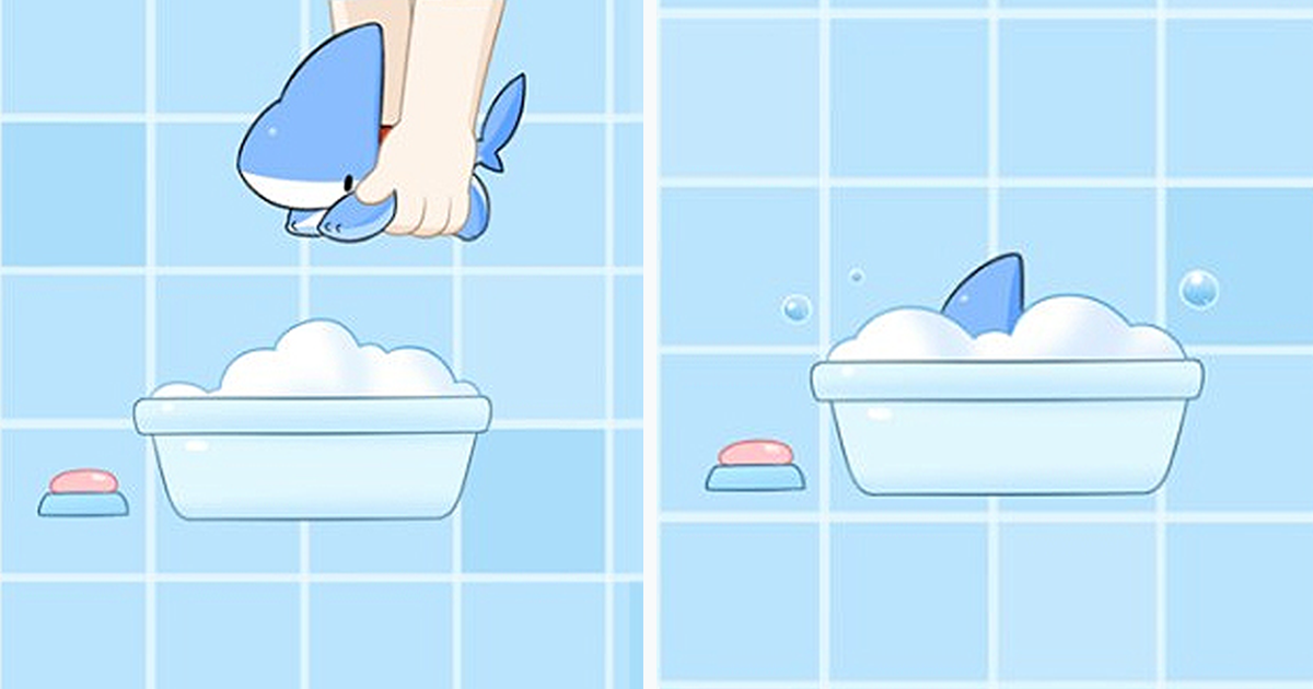 Shark Puppy Is The Cutest Thing You'll See Today (40+ Comics)