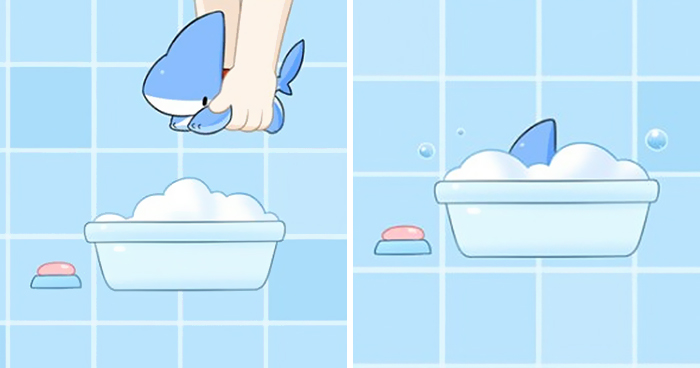 Shark Puppy Is The Cutest Thing You'll See Today (53 Comics)