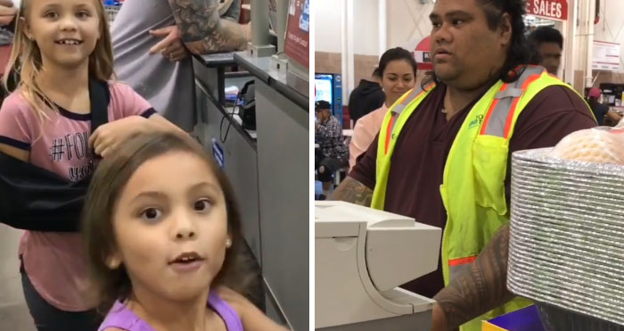 Unas hermanas confunden a un cajero de Costco con Maui de 'Moana' y su reacción es adorable