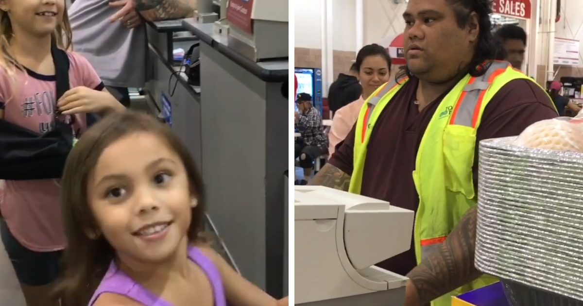 Sisters Mistake Costco Cashier For Maui From Moana And His Reaction Is Too Cute