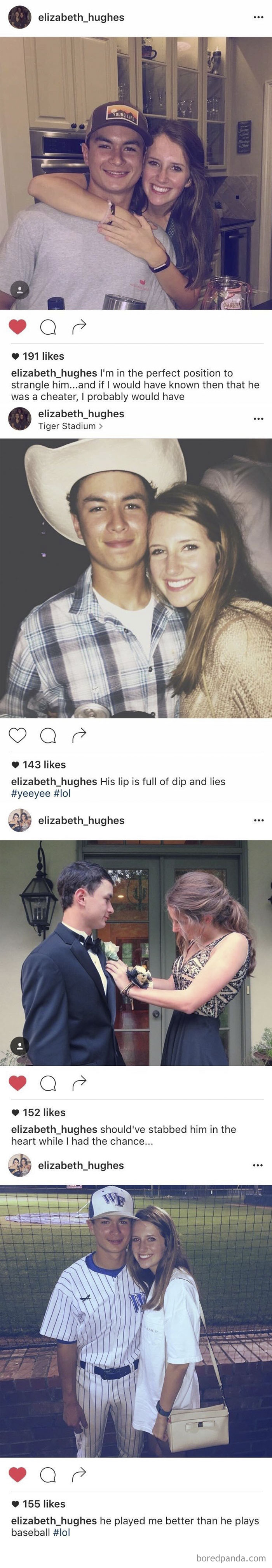 This Girl Changed All Of Her Instagram Captions After She Found Out He Cheated