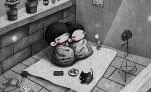 30+ Small Sweet Moments Of Couples' Lives Illustrated By Korean Artist