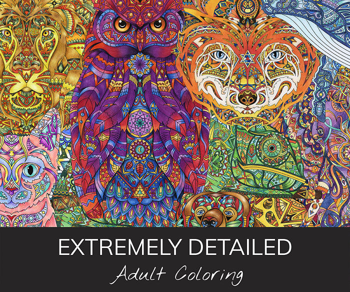 The Hardest And Extremely Detailed Adult Coloring Pages Are Here